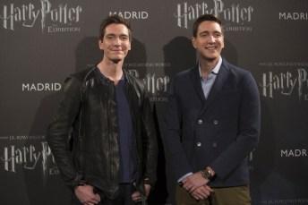Los gemelos en la presentación de 'Harry Potter: The Exhibition' en Madrid