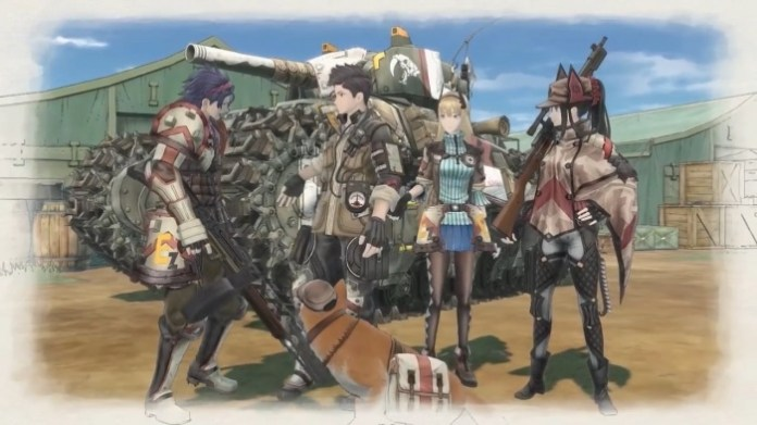Valkyria Chronicles 4 protagonistas
