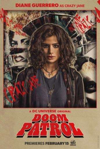 Doom Patrol - Póster Crazy Jane