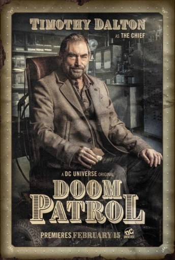 Doom Patrol - Póster El Jefe