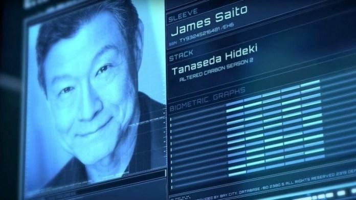 Altered Carbon temporada 2 - James Saito - Tanaseda Hideki