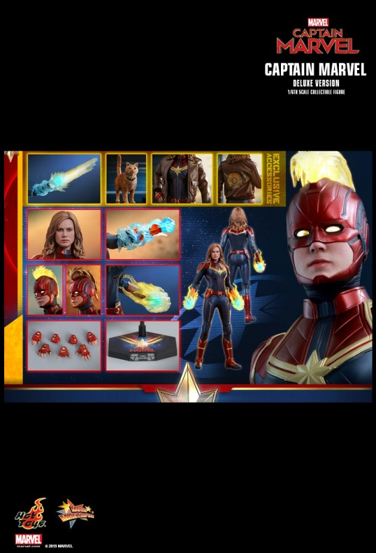 Capitana Marvel Hot Toys