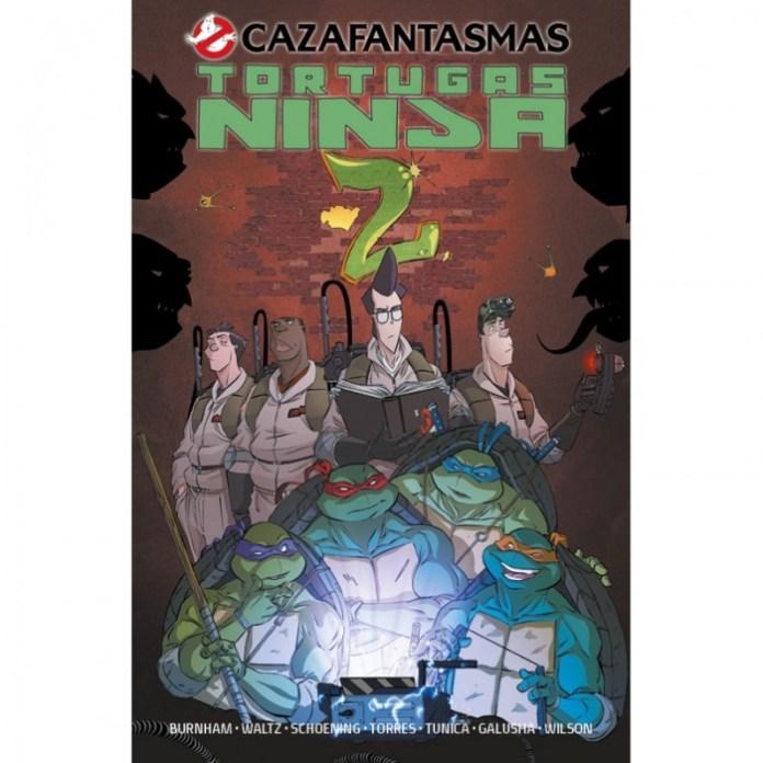 cazafantasmas tortugas ninja 2
