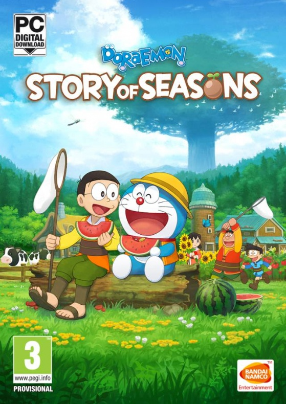 Doraemon Story of Seasons portada
