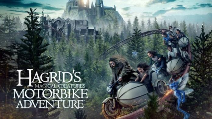 Harry Potter - Hagrid Motorbike