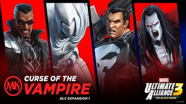 El primer DLC de Marvel Ultimate Alliance 3 ya tiene fecha
