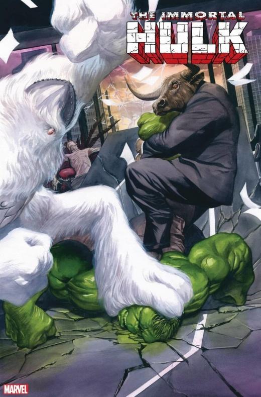 ImmortalHulk33 cover