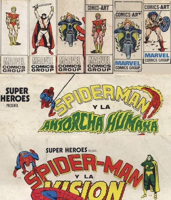 Logoformas superhéroes