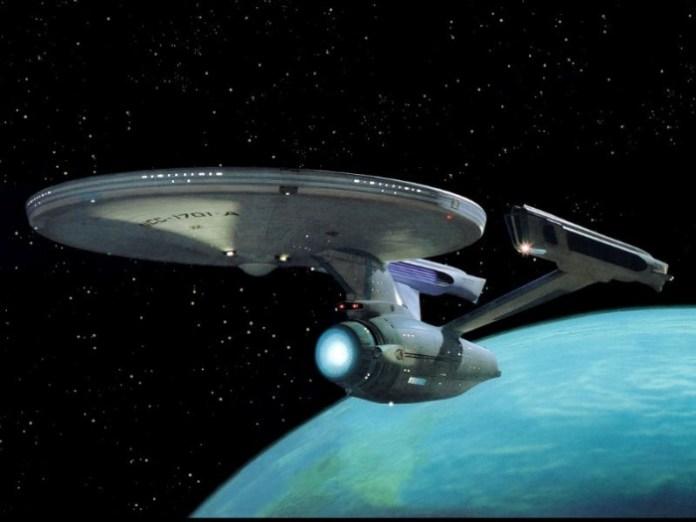 Star Trek  Enterprise A  Blue Planet w800