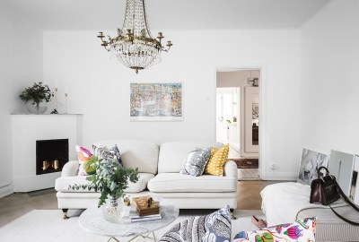 interiors decorated colorful patterns 7