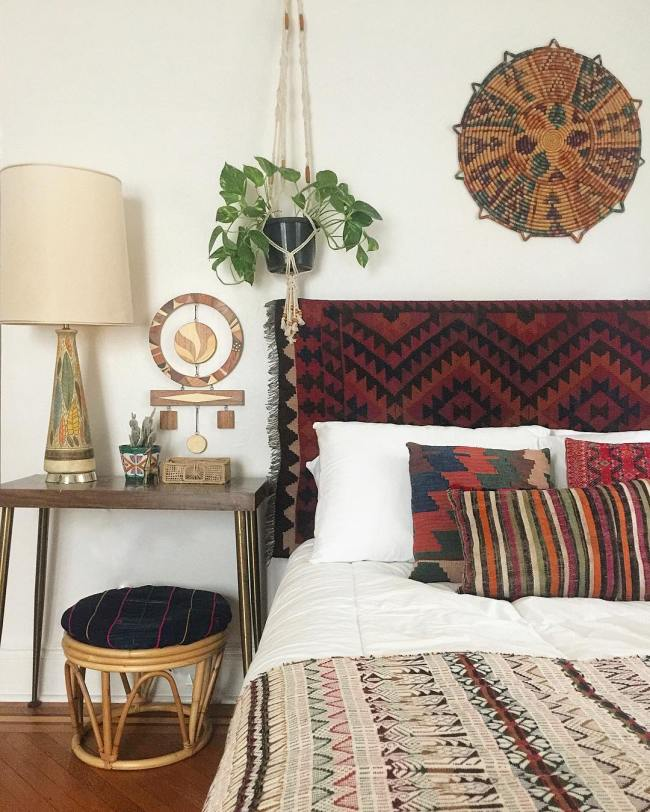 7 ways make best of ethnic rugs 2a