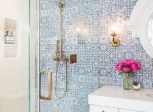 transform your bathroom with boho tiles 10