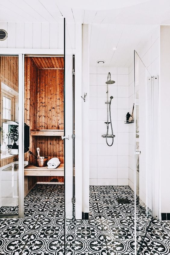 transform your bathroom with boho tiles 6
