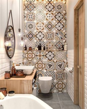 transform your bathroom with boho tiles 9