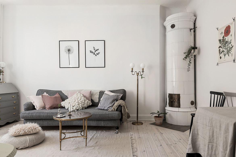Romantic Scandinavian apartment 02