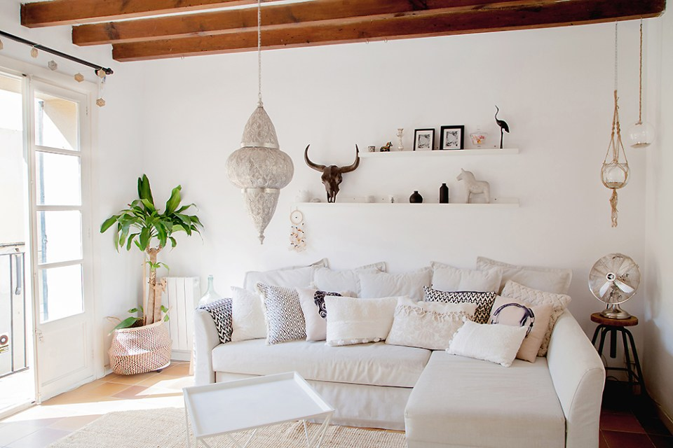 scandi boho apartment in Mallorca 04