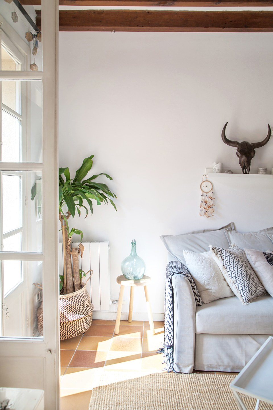 scandi boho apartment in Mallorca 05
