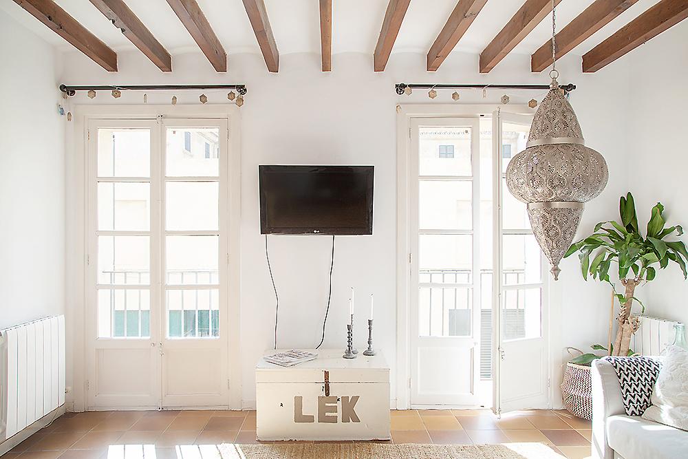 scandi boho apartment in Mallorca 06
