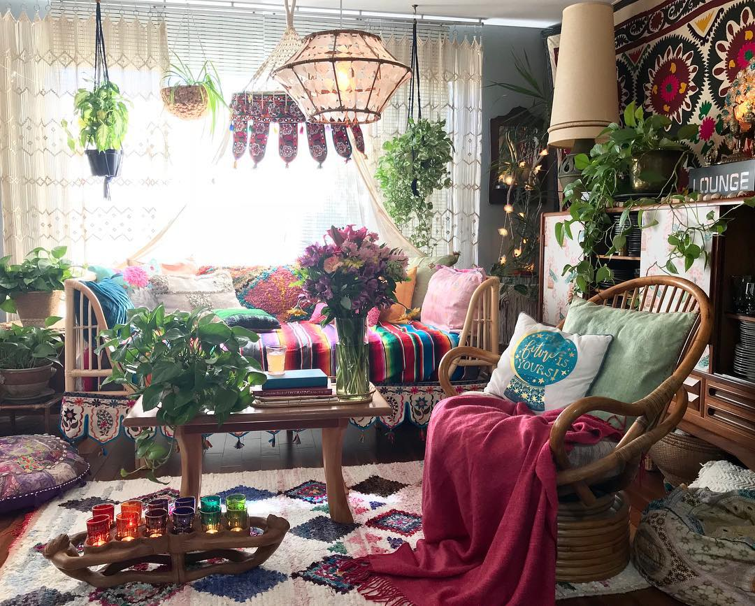 bohemian interiors theloungeista 05