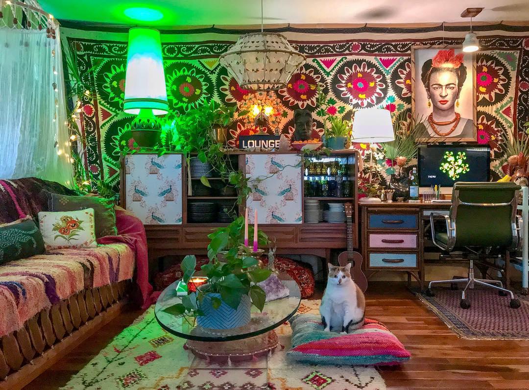 bohemian interiors theloungeista 06