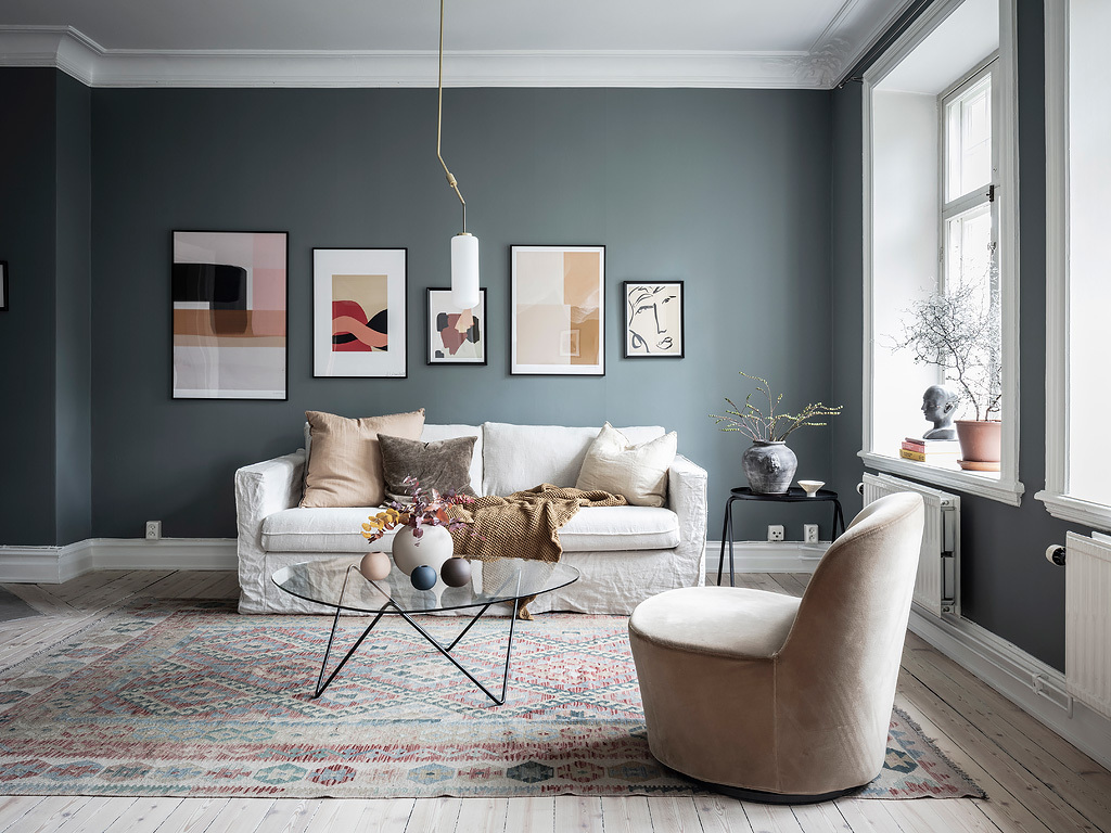 A mix of styles in just one apartment 07