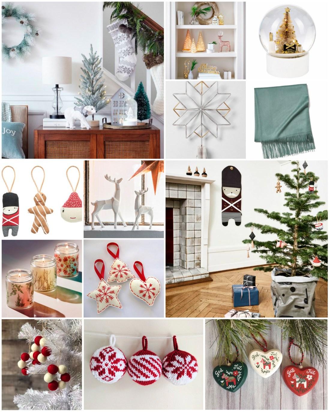 How to achieve a Scandinavian Christmas