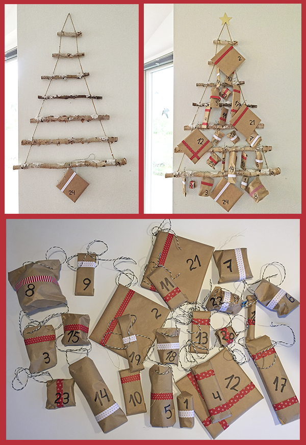Making our first Advent calendar