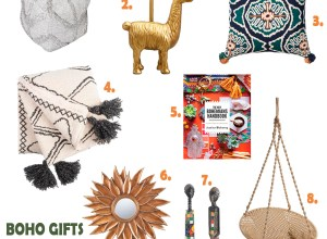 boho gifts for a decor lover