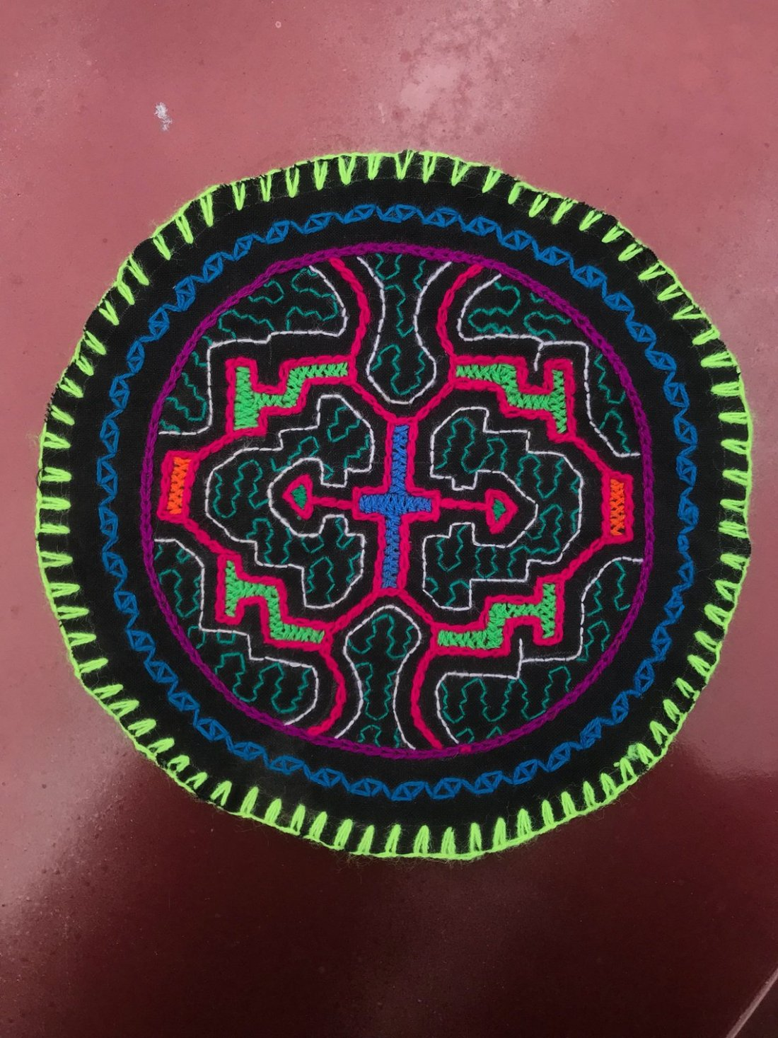 Kené art Tradition and design from the jungle of Peru 05