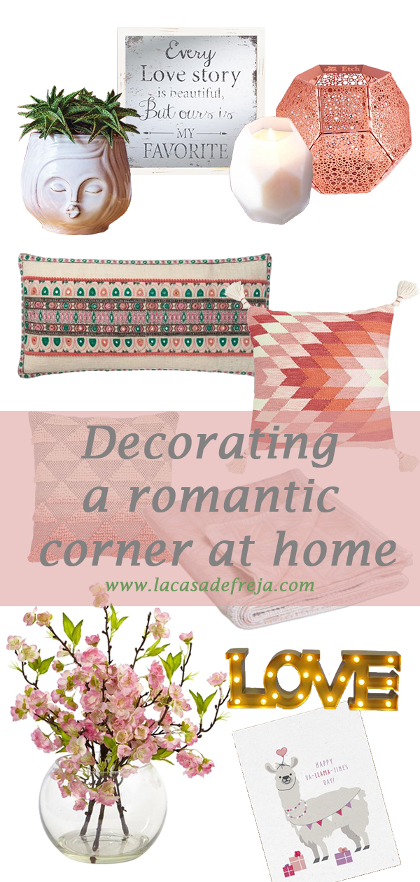 Decorating a romantic corner at home 00