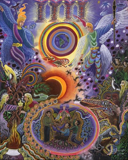 Pablo Amaringo pinturas y visiones de la selva amazónica 01