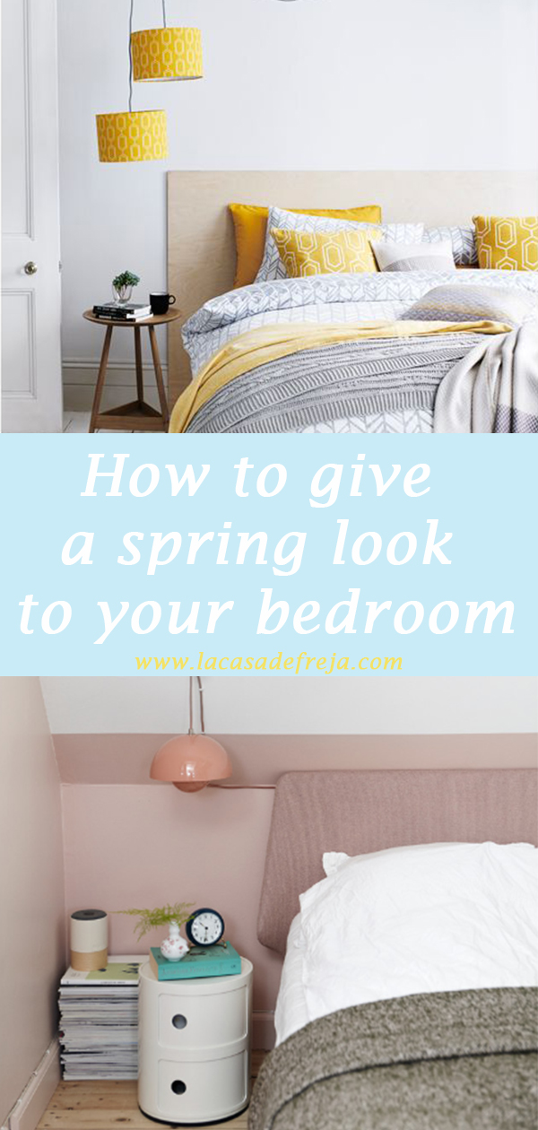 How to give a spring look to your bedroom in few steps