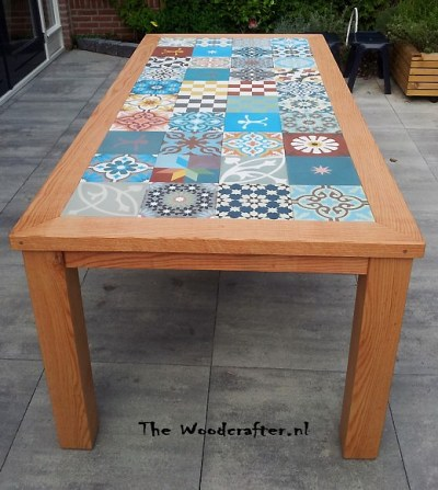 Tables and boho tiles Do they combine in a decoration 03