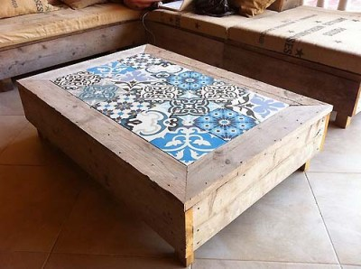 Tables and boho tiles Do they combine in a decoration 09