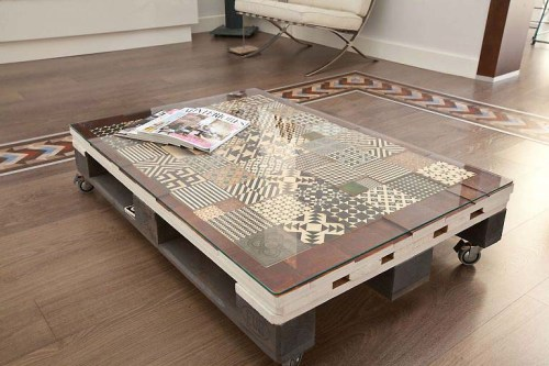Tables and boho tiles Do they combine in a decoration 11