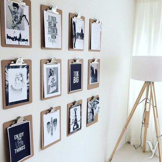 DIY photo wall hanging ideas for this summer 6