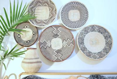 Binga baskets to decorate your walls 03