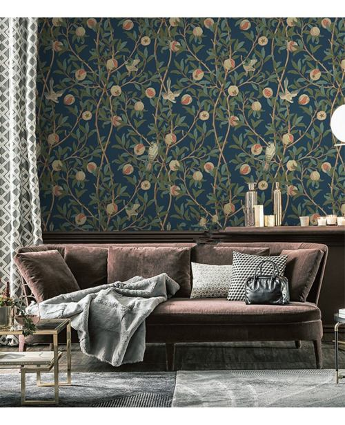 Latest trends in wallpaper in 2019 risky combinations 12