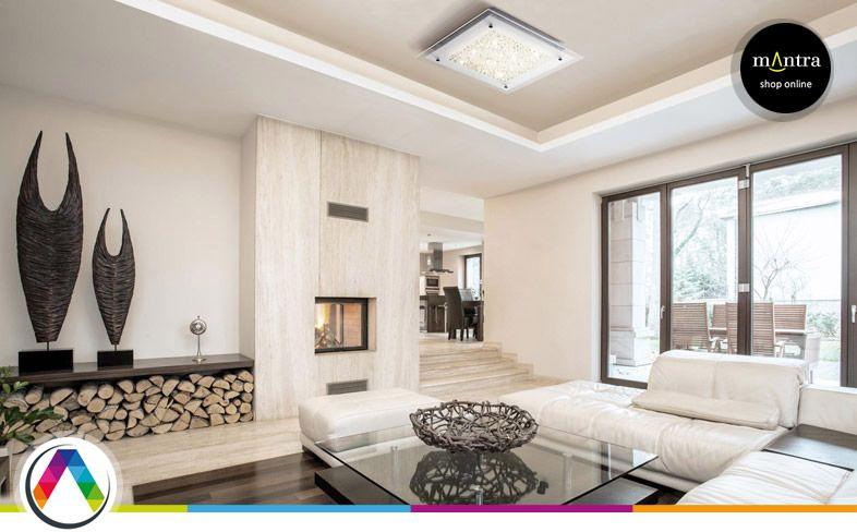 Plafones LED para decorar tu casa  La Casa de la Lmpara