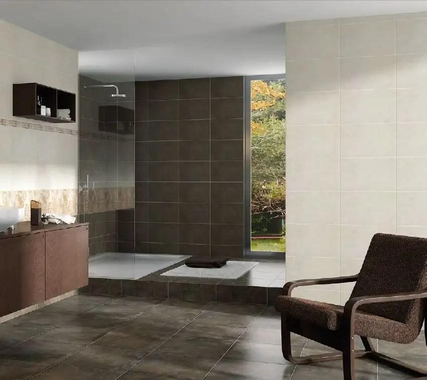 Serie TENNIC  azulejo para suelo y pared en pasta roja