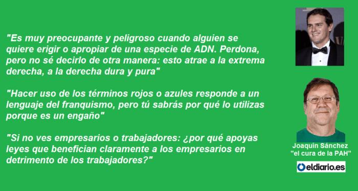Resultado de imagen de Joaquín Sánchez, 'el cura de la PAH'
