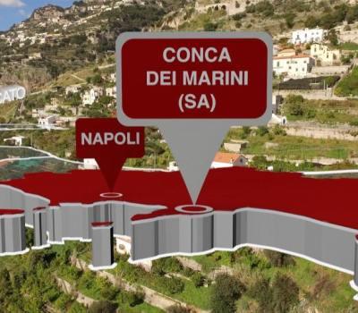 Conca dei Marini : n. 3 tra i borghi più belli d'Italia 2017