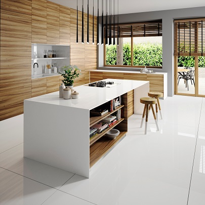 5-Cosentino-Silestone Kitchen - Iconic White
