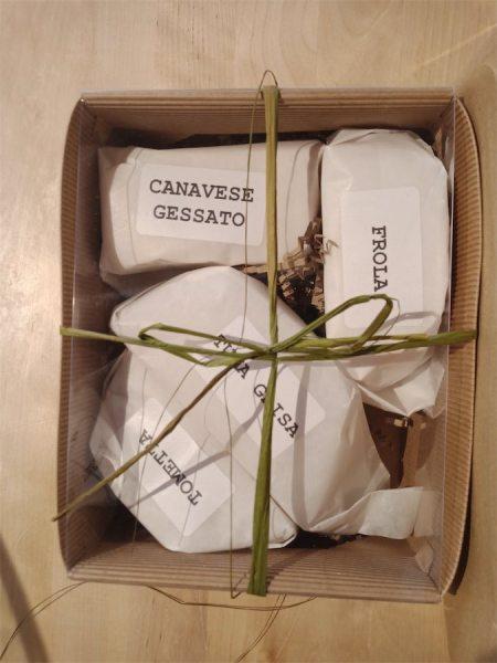 Box degustazione formaggi semi stagionati