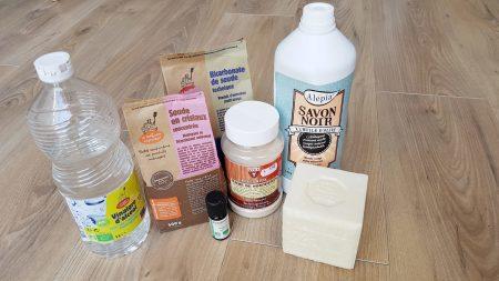 Les produits de base qui permettent de tout faire soi-même