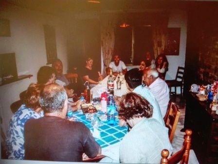 Elena Garrido y familia