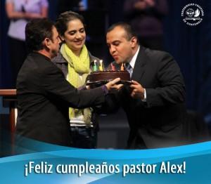 Cumple #37 del Pastor Alex López 2013