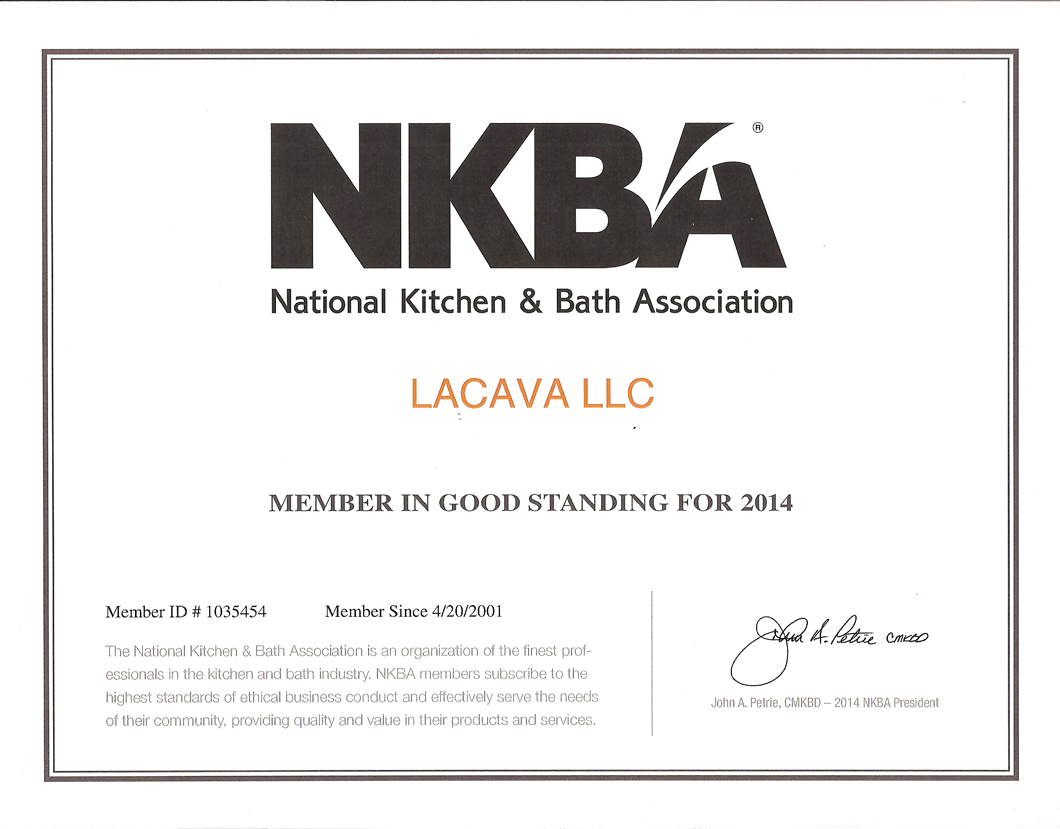 Membership of National Kitchen & Bath Association