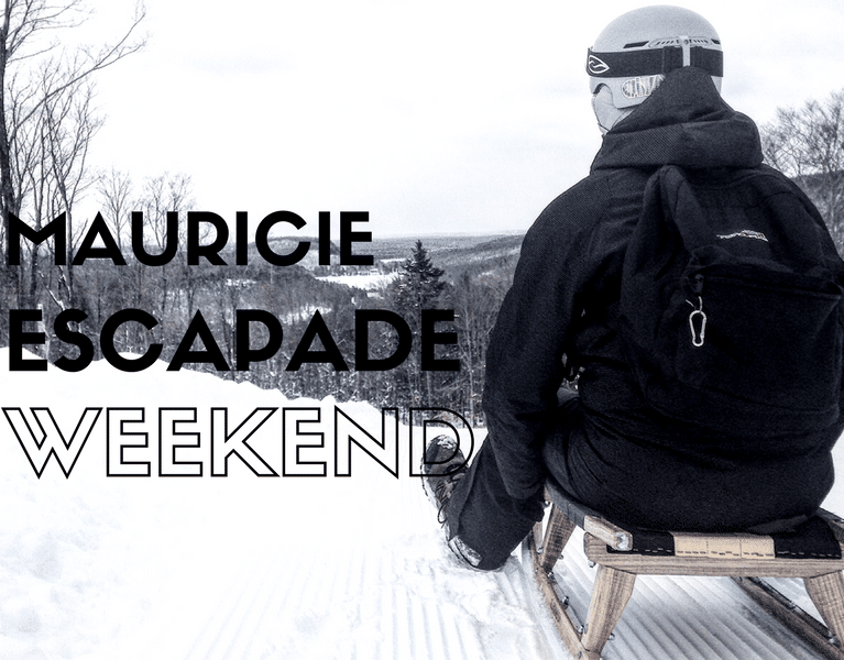 Escapade weekend hiver en Mauricie