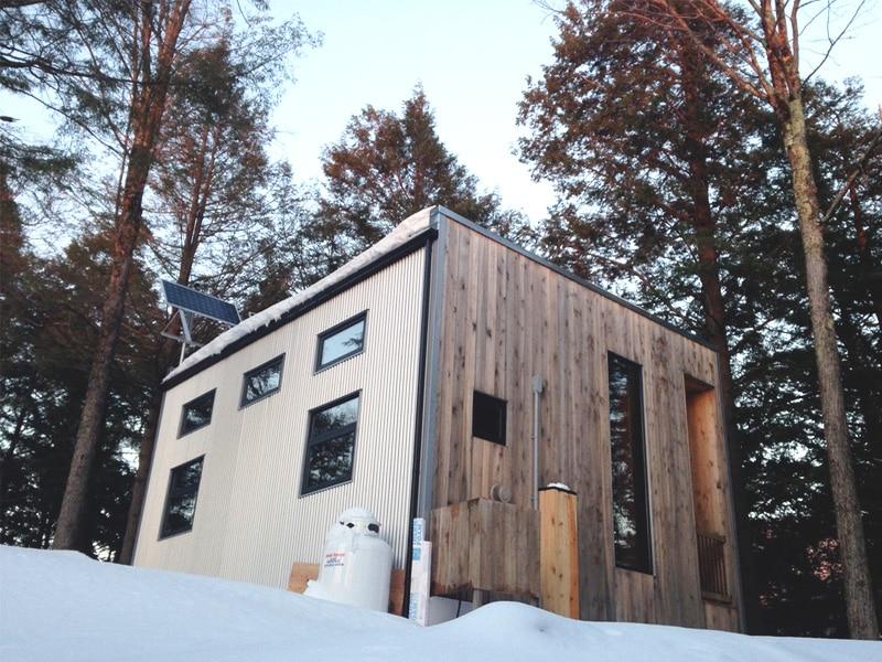 Le Zoobox : Chalet inusité au Québec